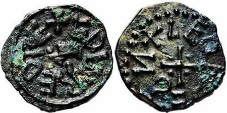 Æþelred II sceat, first reign, Leofdegn moneyer