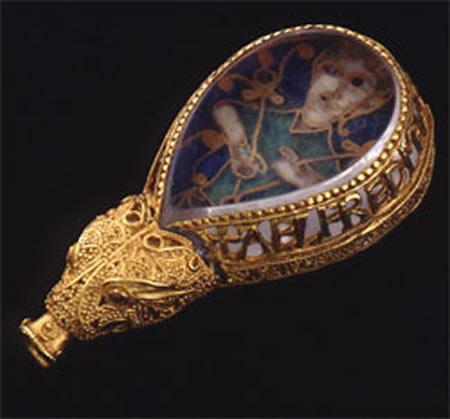 Alfred Jewel, Somerset æstel at  Ashmolean Museum