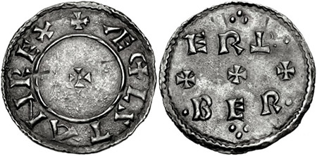 Æþelstan penny, unknown mint