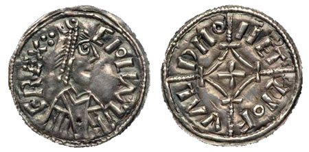 Ceolwulf II, London mint, Leofweald moneyer