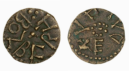 Osberht styca, York mint, Ethelhelm moneyer